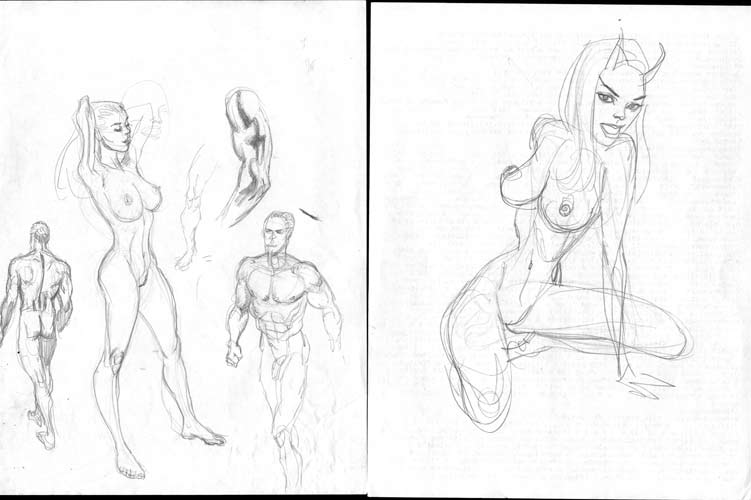 Figure Sketches